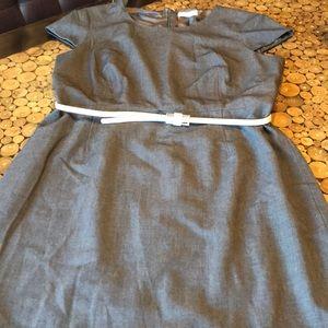 Career Calvin Klein sz 14 suit dress sexy!